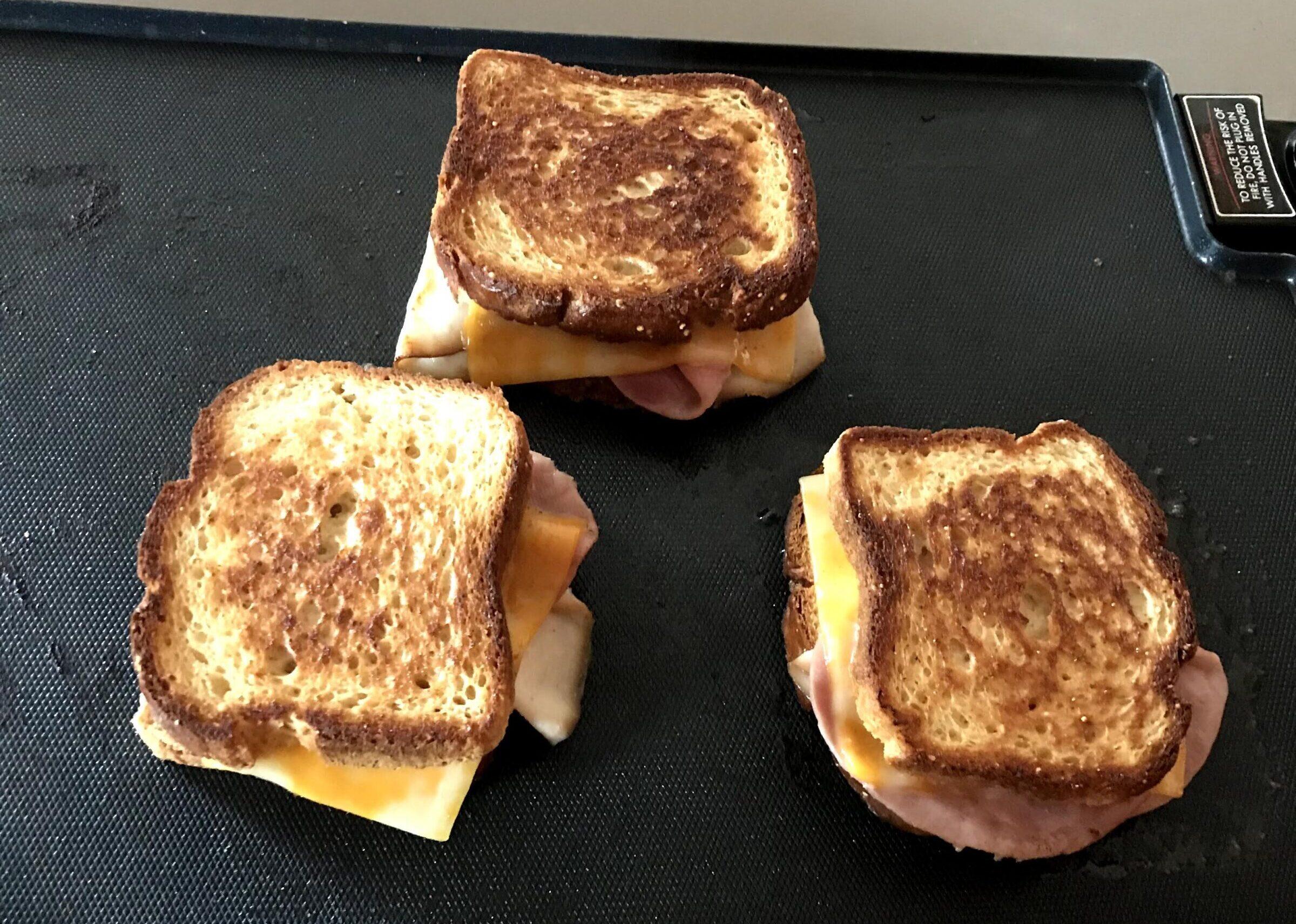 gluten free grilled sandwiches