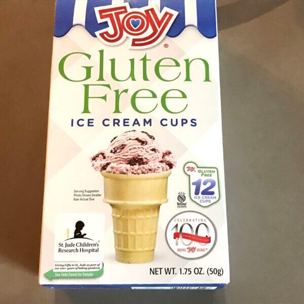 Joy gluten free ice cream cones