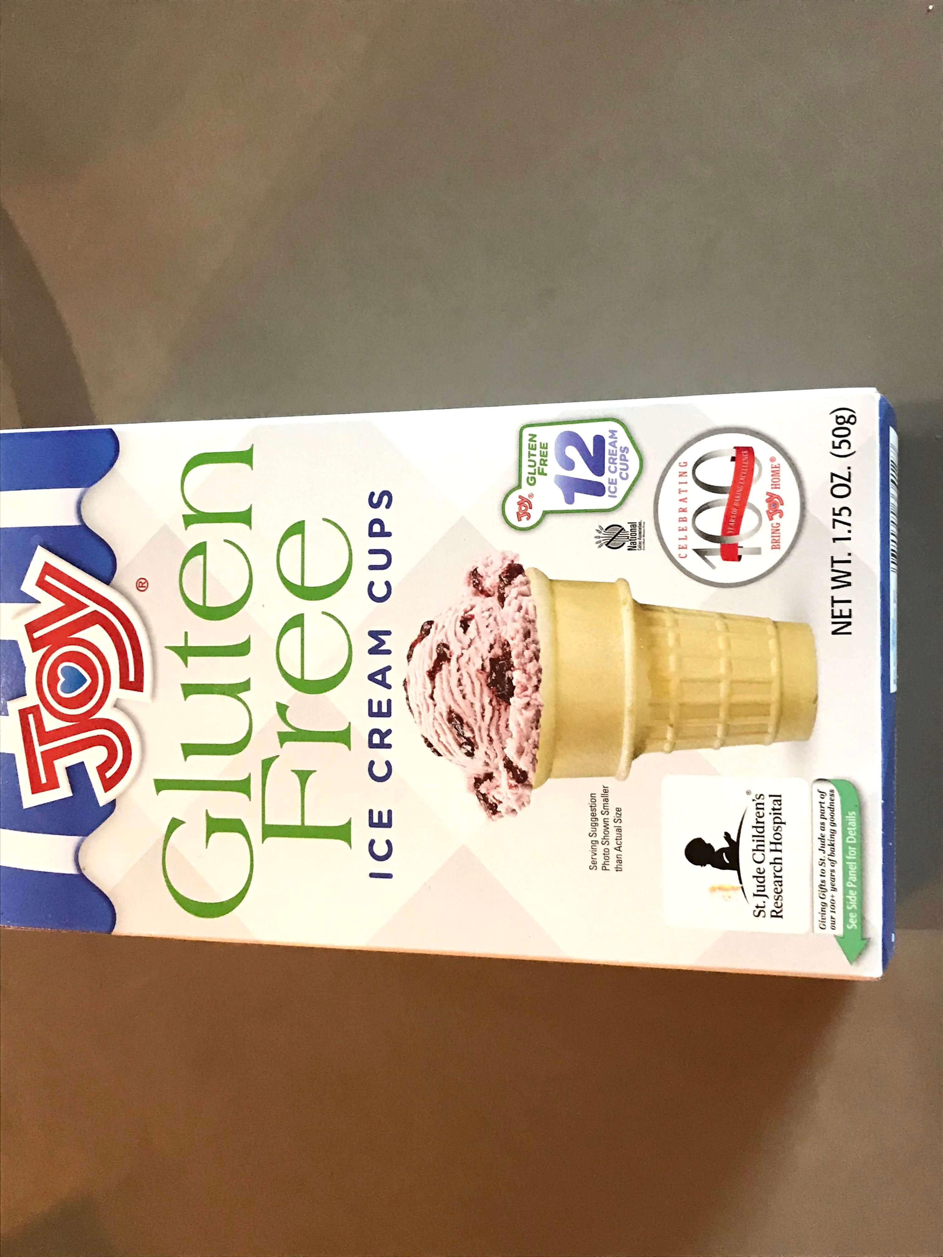 Product Photo of Joy Gluten Free Ice Cream Cones