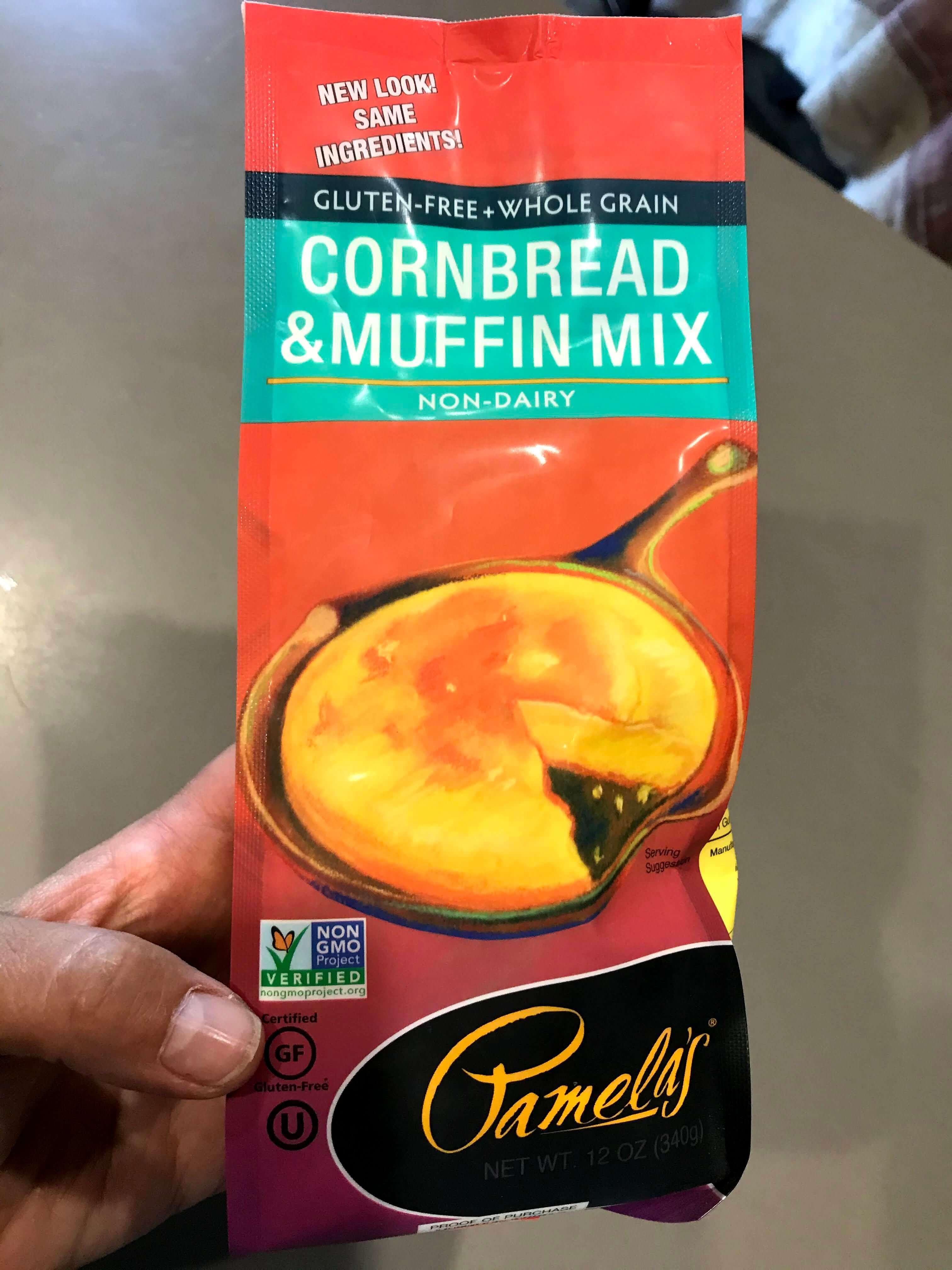 Product Photo of Pamela's Gluten Free Cornbread Mix
