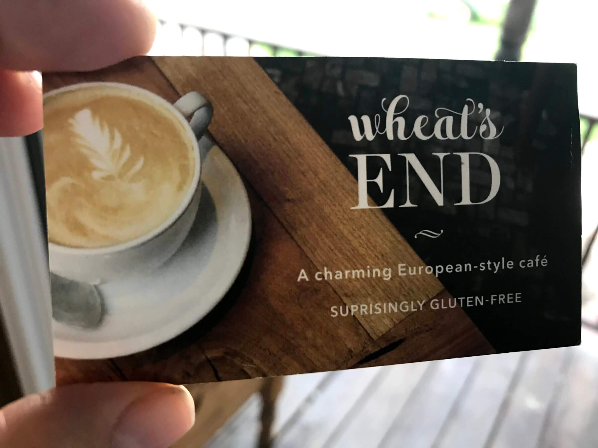 Wheat's End: A charming European-style cafe - Suprisingly Gluten Free