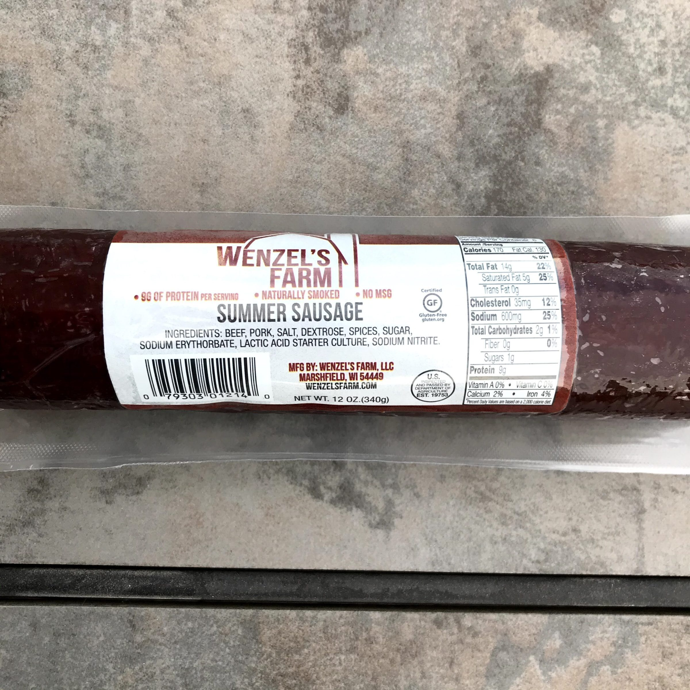 Product Photo of Wenzel's Farm Summer Sausage