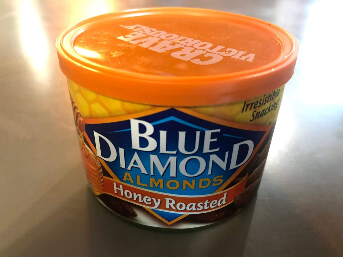 Product Photo of Blue Diamond Honey Roasted Almonds