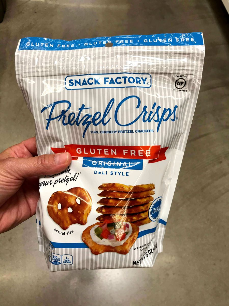 Product Photo of Snack Factory Gluten Free Pretzel Crisps