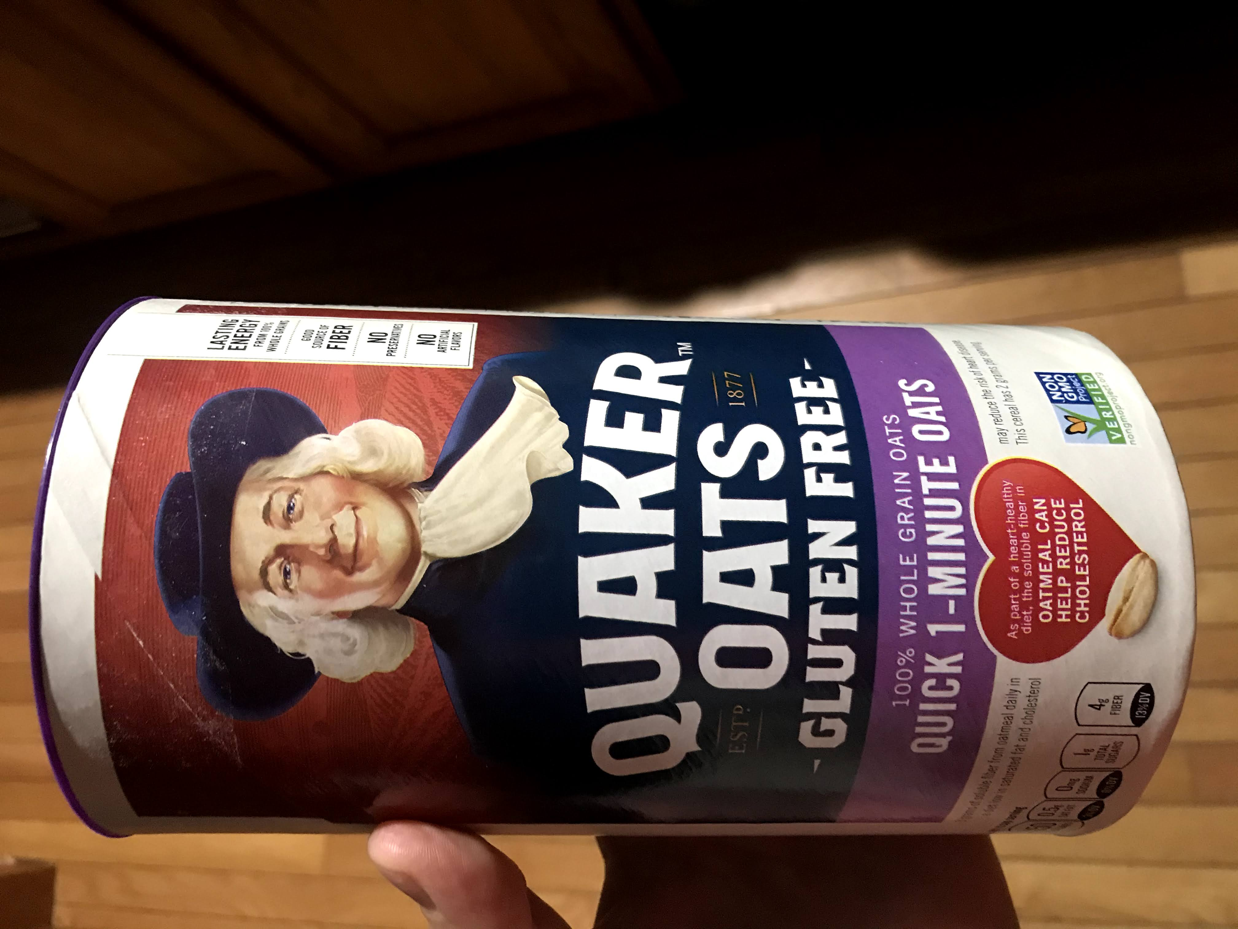 Product Photo of Quaker Gluten Free Quick Oats