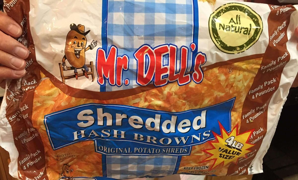 Product Photo of Mr. Dell's Shredded Hash Browns